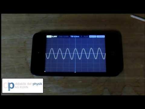 Tutorial App Oscilloscope
