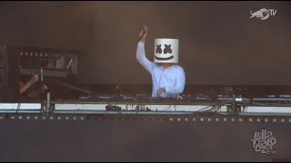 Marshmello LIVE from LOLLAPALOOZA 2016 (clip 1/2)