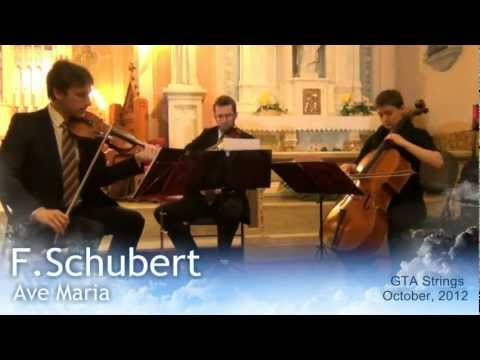 F.Schubert - Ave Maria - GTA Strings LIVE