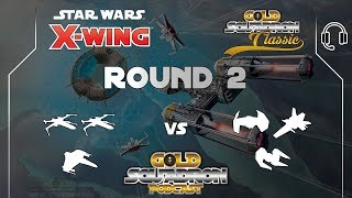 Ryan Auer and Justin Taylor - Round 2 - Gold Squadron Podcast 2018
