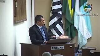 18ª Sessão Ordinária - Vereador Sérgio Leiteiro
