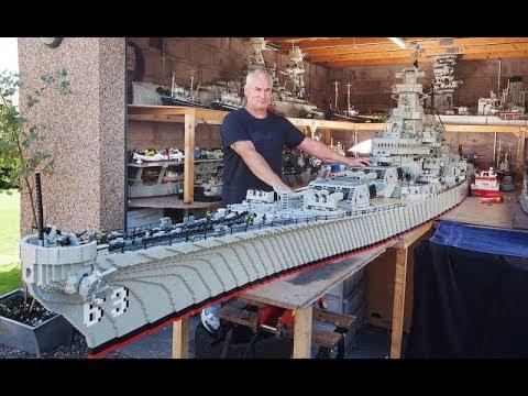 Как сделать из лего корабль военный