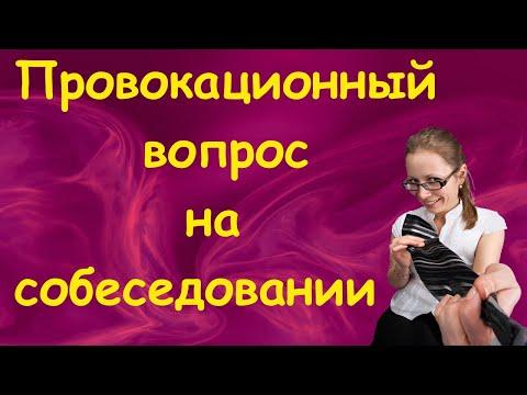 Провокационные вопросы на собеседовании   Как пройти собеседование
