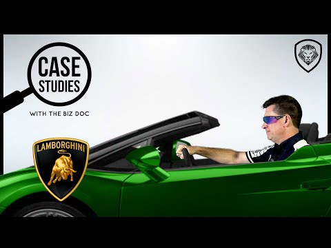 How Lamborghini Became a Super Car Comeback Story - A Case Study for Entrepreneurs