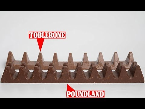 Poundland launches Toblerone c opycat bar after legal issue