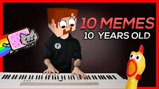 10 MEME SONGS turn 10 YEARS OLD (in 2021)