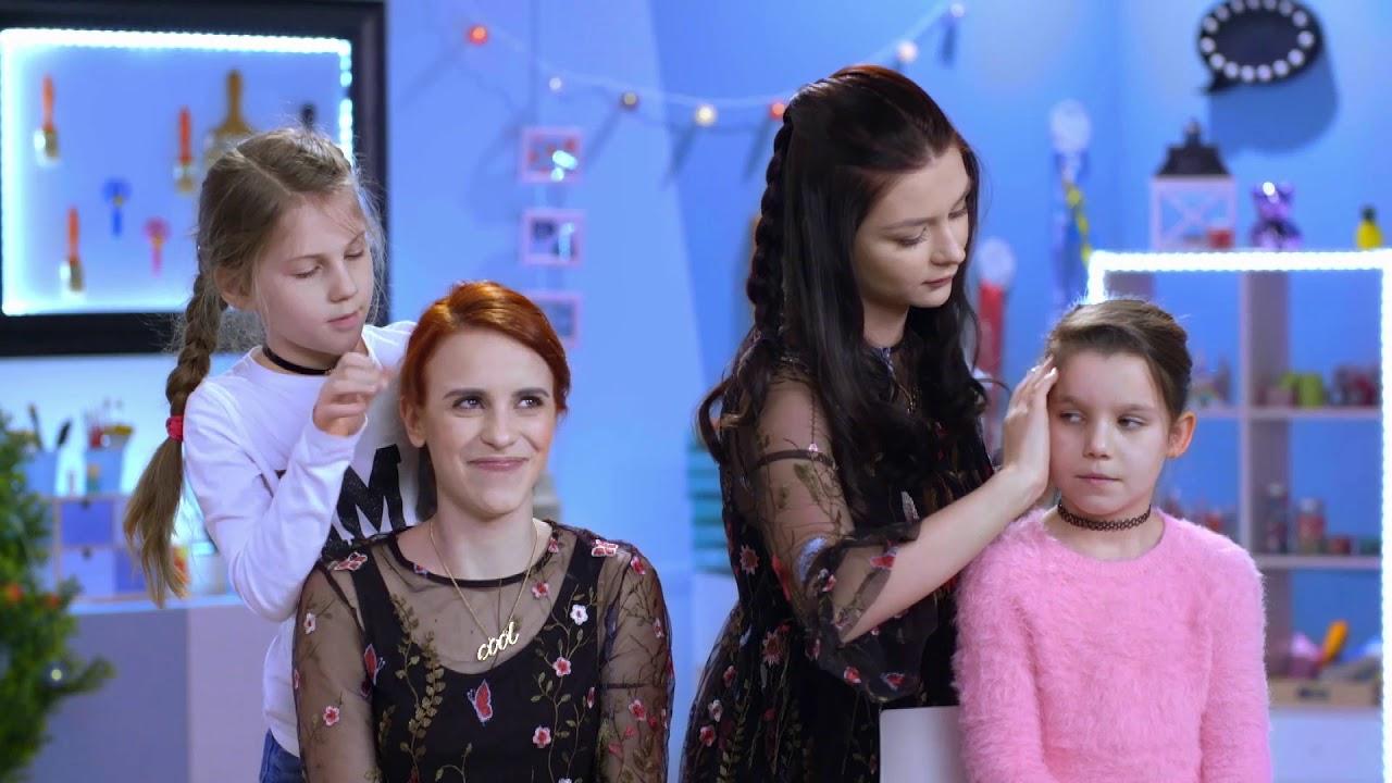 Dwie Super Fryzury Do Szkoły Kącik Piękna Dla Dziewczynek My3 Tv Dla Dzieci