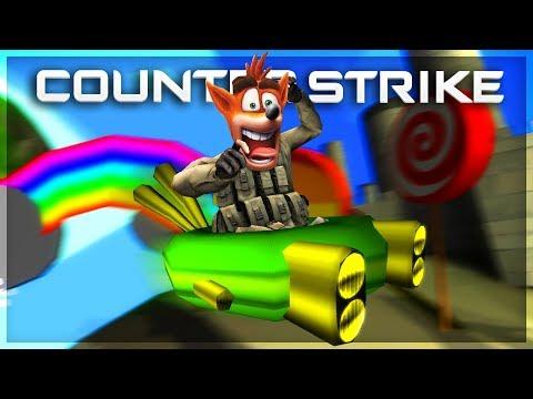 CSGO Mini Games With The Crew! Crash Bandicoot Mini Games!!!