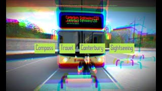 ROBLOX Canterbury V4 --- Compass Travel Sightseeing ALX400 --- 4x Speed Motion 1080p60fps