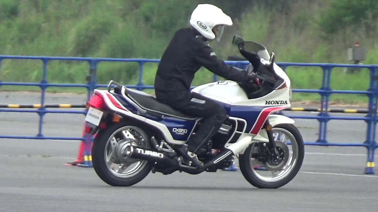 The successor of the world's first turbo motorcycle – CX650 Turbo