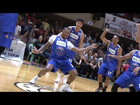 Smart AllStar vs Mindanao AllStar Dance Showdown  PBA AllStar 2018