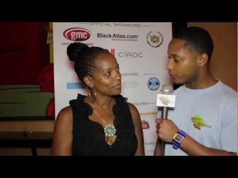 Vanessa Bell Calloway Interview @ ABFF 2012