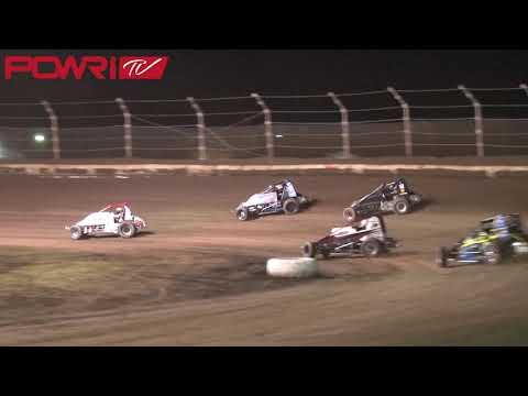 10/5/18 POWR Lucas Oil WAR Sprint Car League Highlights From Jacksonville Speedway