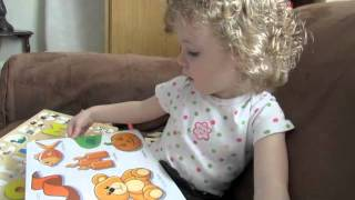 Autumn @ 2.5 years old - Developmental Apraxia