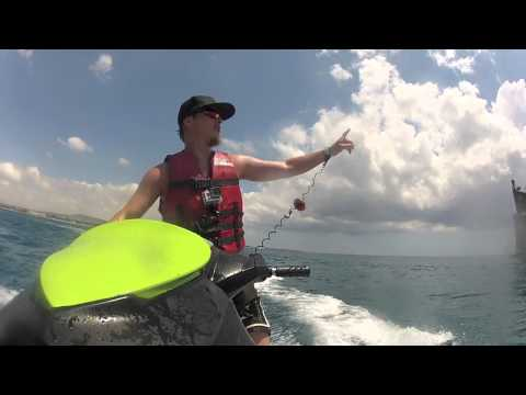 GoPro HD Hero2+3 Parachute & Jetski jumps / slides Tunisia