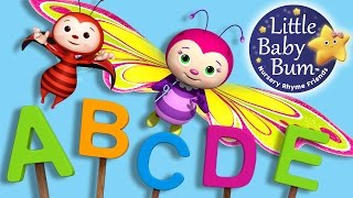 ABC Song | Butterfly Zed Version | Nursery Rhymes | Original Song By LittleBabyBum!