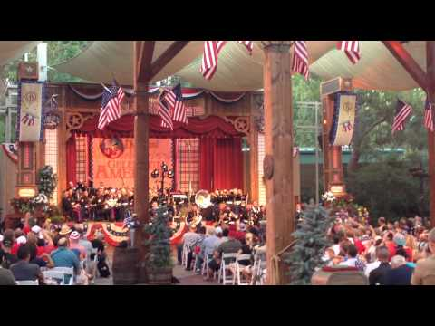 "3rd Marine Aircraft Wing Band Perform, ""Let It Go,"" at Disneyland on the 4th of July, 2014"