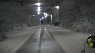 Truck Driving in a Cave