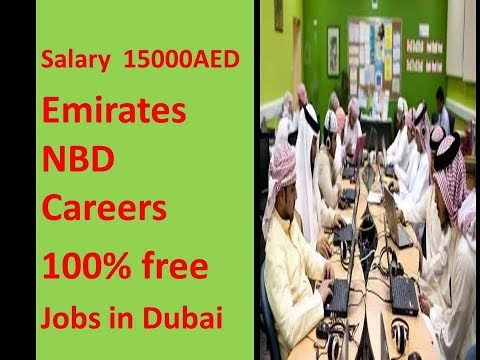 6000-15000AED Salary Emirates NBD Jobs In Dubai Apply Now.
