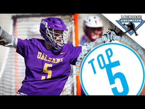 Albany Lacrosse Stands Tall! - Top 5