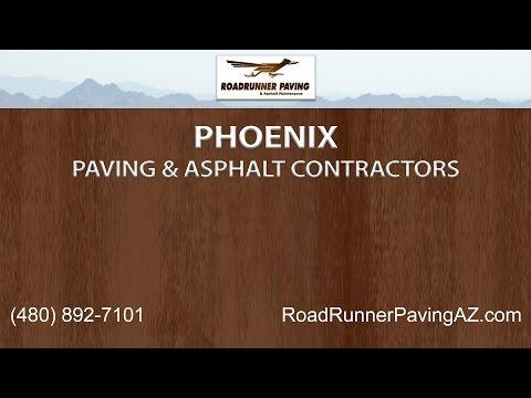 Phoenix Asphalt and Paving Services | Roadrunner Paving and Asphalt Maintenance