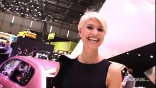 Les plus belles hotesses du salon de l'auto de Genève 2014