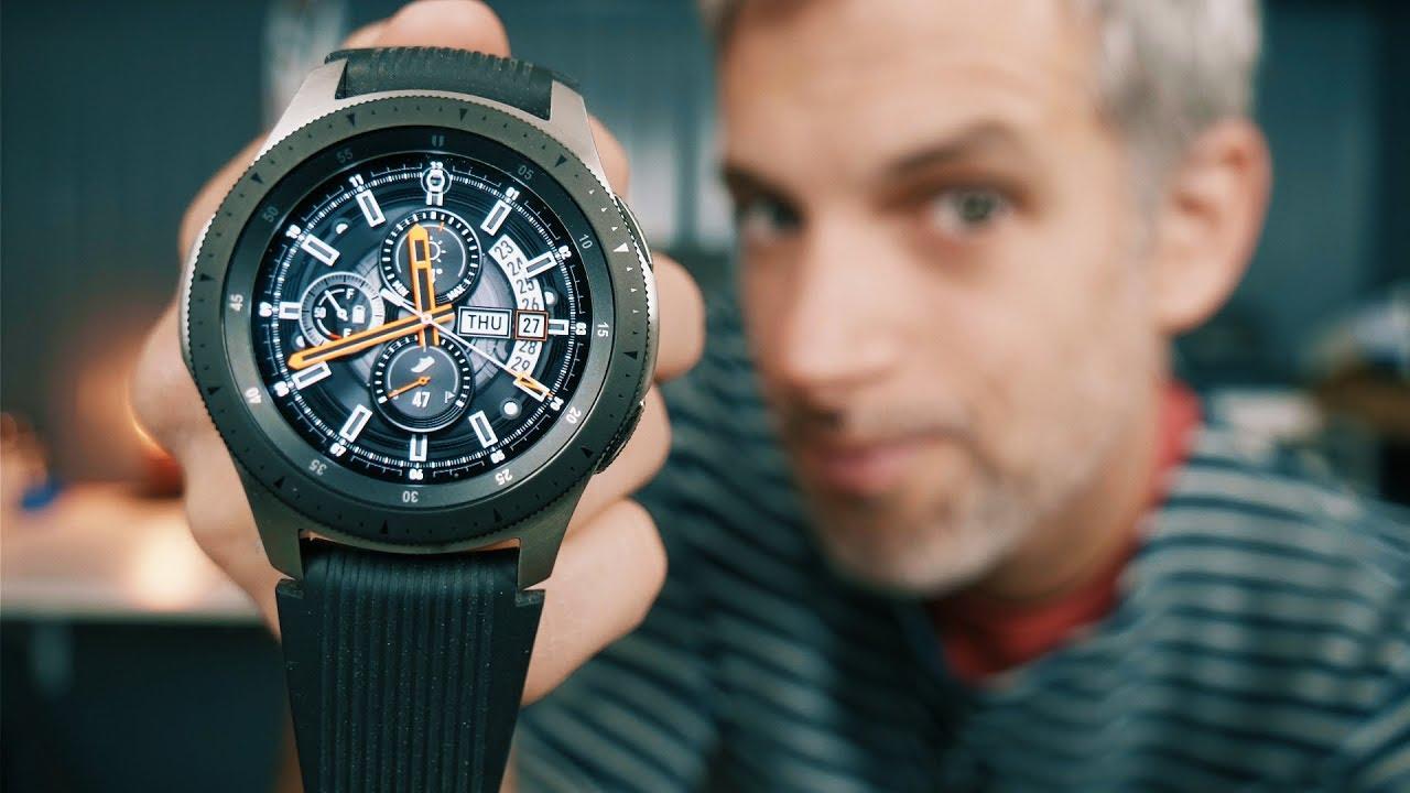 Voici notre sélection des meilleures montres connectées en 2021 - Samsung Galaxy Watch
