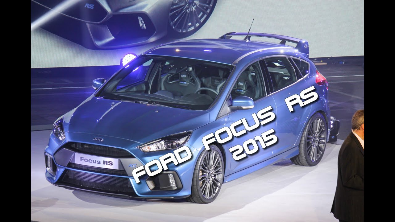 tour ext rieur de la nouvelle ford focus rs 2015 youtube. Black Bedroom Furniture Sets. Home Design Ideas