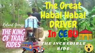 """""""The GREAT HABALHABAL DRIVER  in CEBU  """" Going to UPPER CALUT Laguna Basketball Court"""