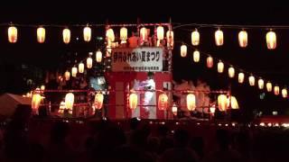田中星児さん2016伊丹ふれあい夏まつり盆踊りビューティフルサンデーア...