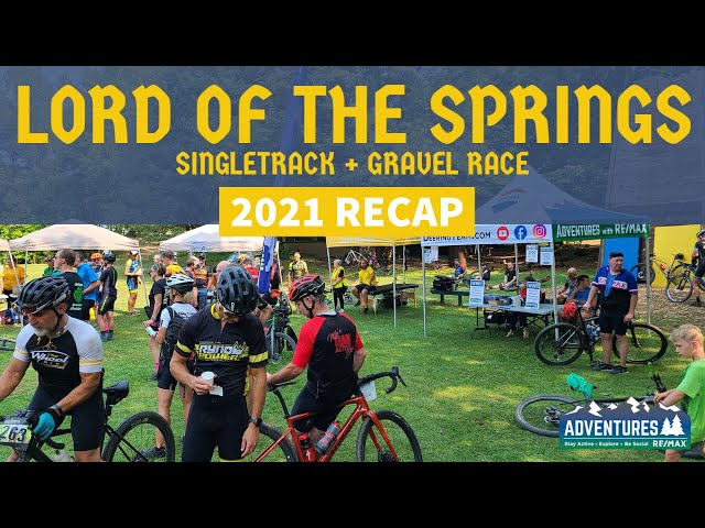 Lord of the Springs   Singletrack + gravel bike race