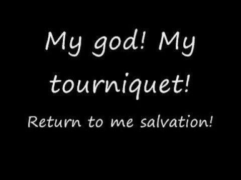 Evanescence: Tourniquet (With Lyrics)