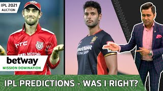 AUCTION Predictions: HOW many did I get RIGHT? | Betway Mission Domination | Aakash Chopra