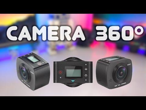 Esta Camera Filma 360º Verdadeiro - QUE TOP !!!