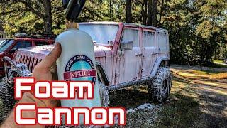$17 Foam Cannon Test - Will It Clean My Jeeps???