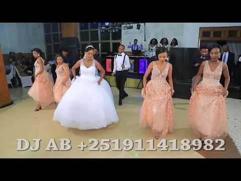 """New Ethiopian Wedding Group Dance  By DJ AB """"Tizu & Heni's"""" (Video By Sol Image +251911147598) mpeg"""