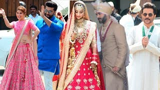 Sonam Kapoor And Anand Ahuja Arrive At Their Wedding Ceremony | Sonam Ki Shaadi | Anil Kapoor