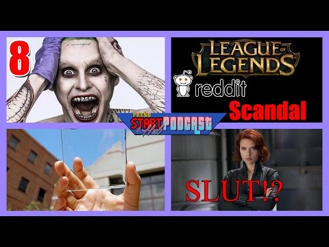 Podcast 8 PSH - Joker, LOL Reddit Scandal, Glass Solar Panels, Slut Shaming Black-Widow
