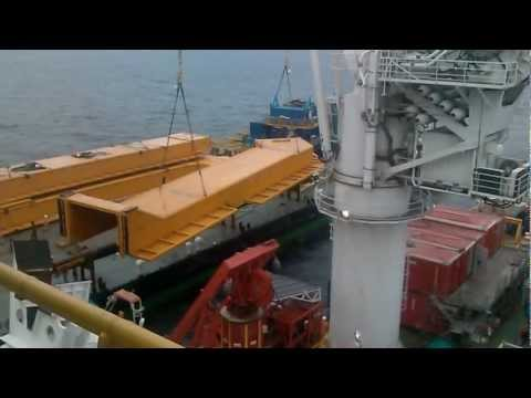 Arkutun-Dagi - Lifting of a tunnelsection