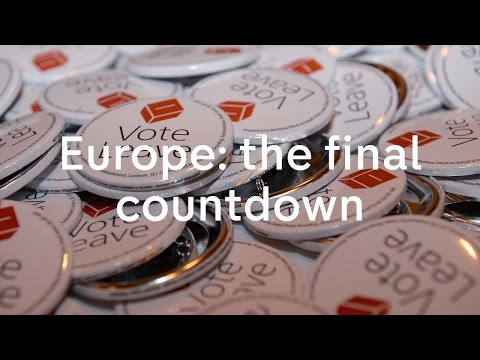 Europe referendum: the official campaign starts today