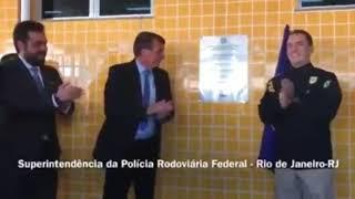Presidente Bolsonaro: Visita e entrega de material à Polícia Rodoviária Federal - Rio de Janeiro