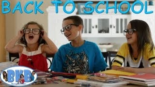 Bratayley Knows Back-to-School | School Supplies | Fashion Show | BKB # 7