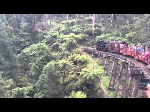 Puffing Billy Heritage Railway Melbourne - Australia
