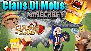 Minecraft Mod [ Clash Of Mobs ] 1.8 Clash Of Clans en Minecraft !