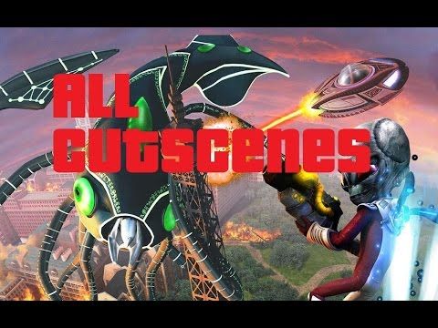 Destroy All Humans Path Of The Furon – ALL CUTSCENES