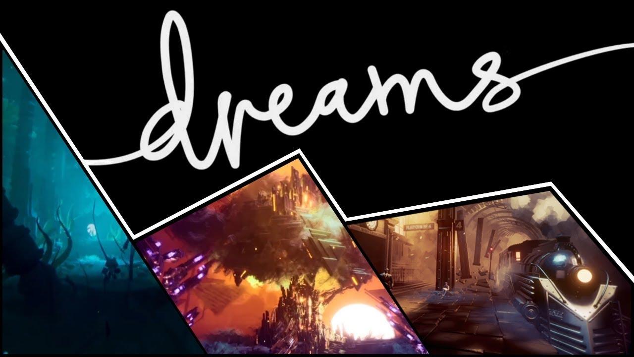 HD Exclusive Dreams Ps4 Logo - dream