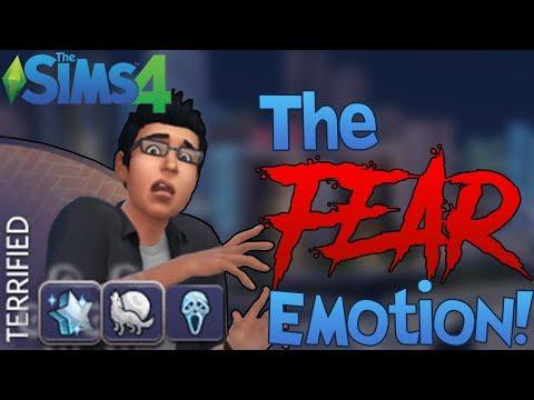 The Sims 4: New Fear Emotion! (Mod Showcase)