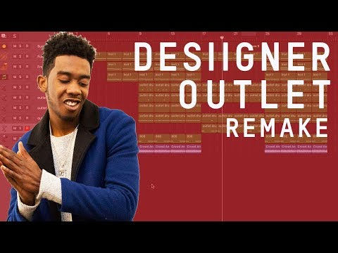 Making a Beat: Desiigner - Outlet (Remake)