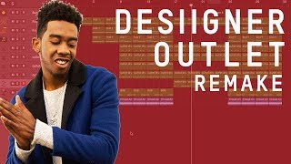 Making a Beat: Desiigner - Outlet (Remake)