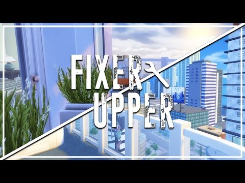 ZENVIEW APARTMENTS // The Sims 4: Fixer Upper - Home Renovation